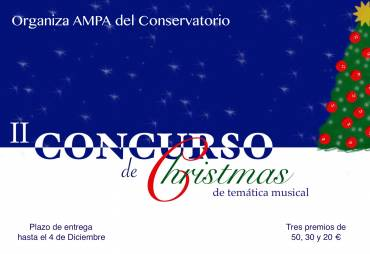 II Concurso de Christmas del AMPA del Conservatorio