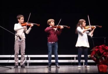 "Concierto Conservatorio Elemental de Música ""Isaac Albéniz""de final de trimestre."