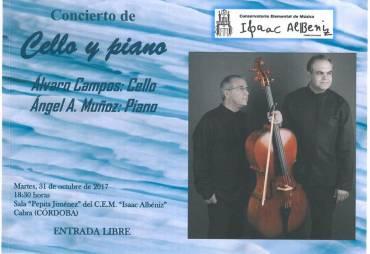 Concierto de Cello y Piano por Álvaro Campos y Ángel A. Muñoz
