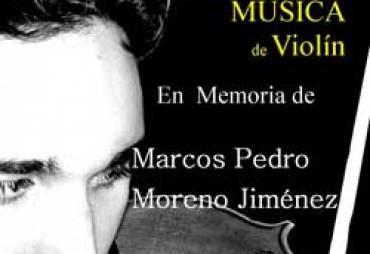 III Concurso Nacional de Violín en memoria de Marcos Pedro Moreno