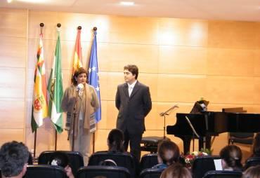 Inauguración de la Sala Pepita Jiménez del Conservatorio