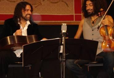 El Dúo Malikian-Padilla vuelve al Conservatorio de Cabra
