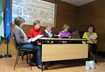 Celebración del Día de Andalucia. Acto conjunto con la Escuela de adultos de Cabra
