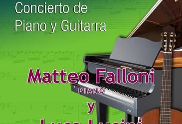"""No te pierdas """"Concierto del Dúo de Guitarra y Piano Luccini-Falloni"""""""