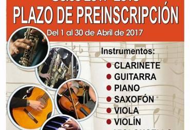 ¿Quieres aprender a tocar un instrumento?