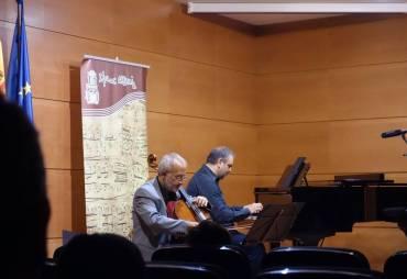 """Concierto de apertura de curso en Conservatorio Elemental de Música """"Isaac Albeniz"""""""