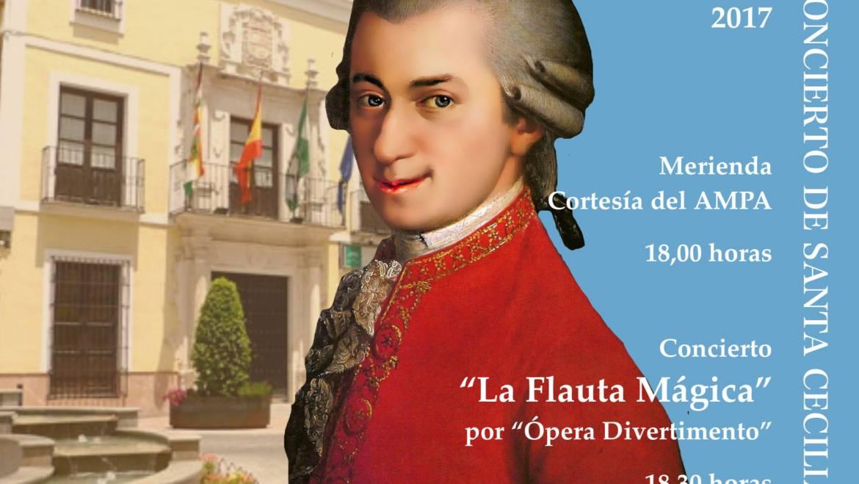"""Concierto Santa Cecilia """"La Flauta Mágica"""" Mozart por Opera Divertimento"""