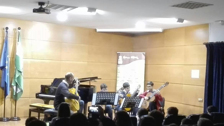 Audición de agrupaciones musicales del conservatorio