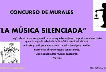 """Concuso de murales """"La música silenciada"""""""