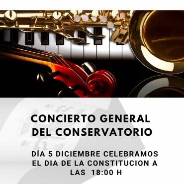 Concierto General del Conservatorio