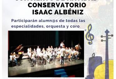 Concierto Navidad Conservatorio Isaac Albéniz