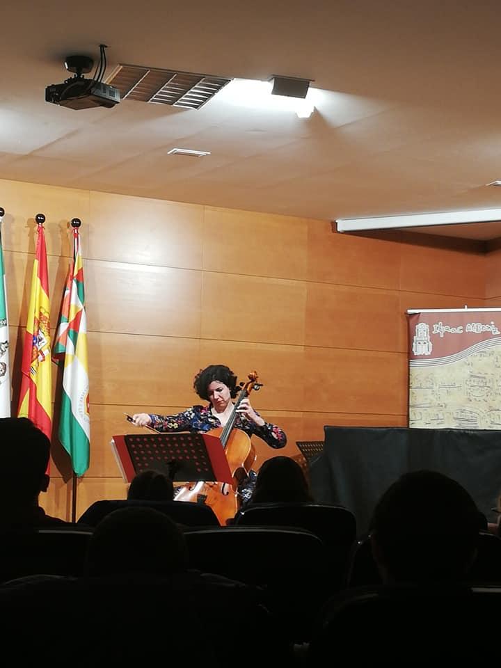 Fantástica actuación de Beatriz González Calderón