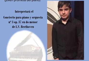 Concierto del pianista Emin Kiovrktchian una joven promesa