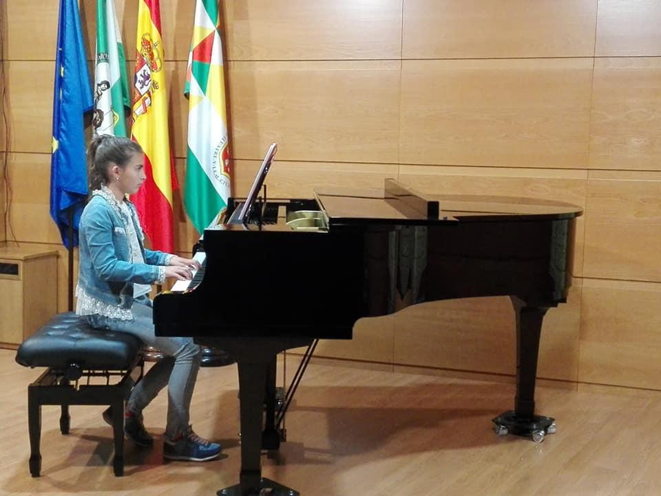 Audición por el alumnado de piano de los profesores José Luis González y Pablo Moreno