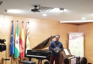 Concierto de piano con Emin Kiovrktchian conservatorio de Cabra