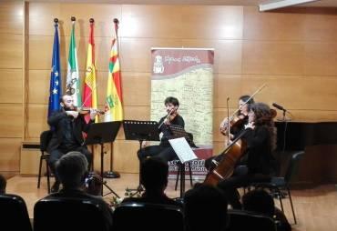 Concierto Cuarteto Jordán conservatorio de Cabra
