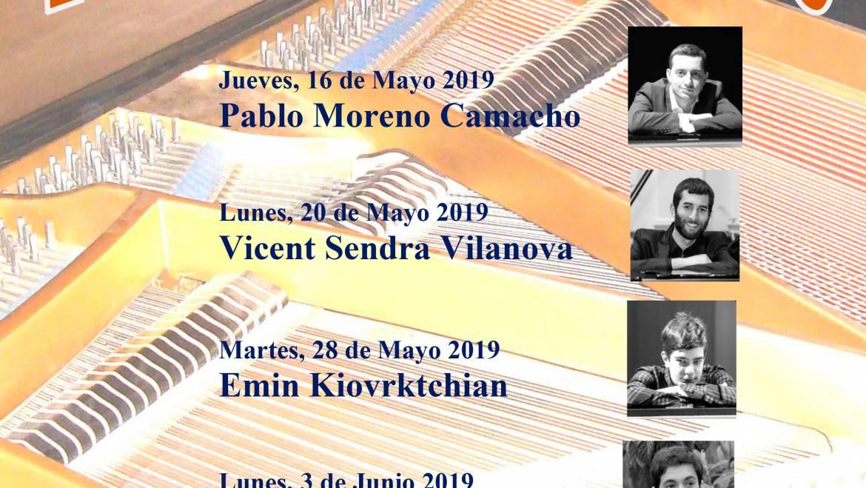VII Ciclo de Piano en colaboración con el Real Conservatorio Superior de Música de Madrid
