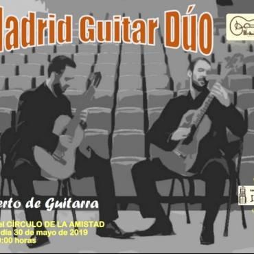 Y MAÑANA… Concierto de Madrid Guitar Dúo OS ESPERAMOS