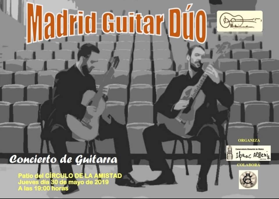 Y MAÑANA… Concierto de Madrid Guitar Dúo 🎶🎉OS ESPERAMOS🎉🎶