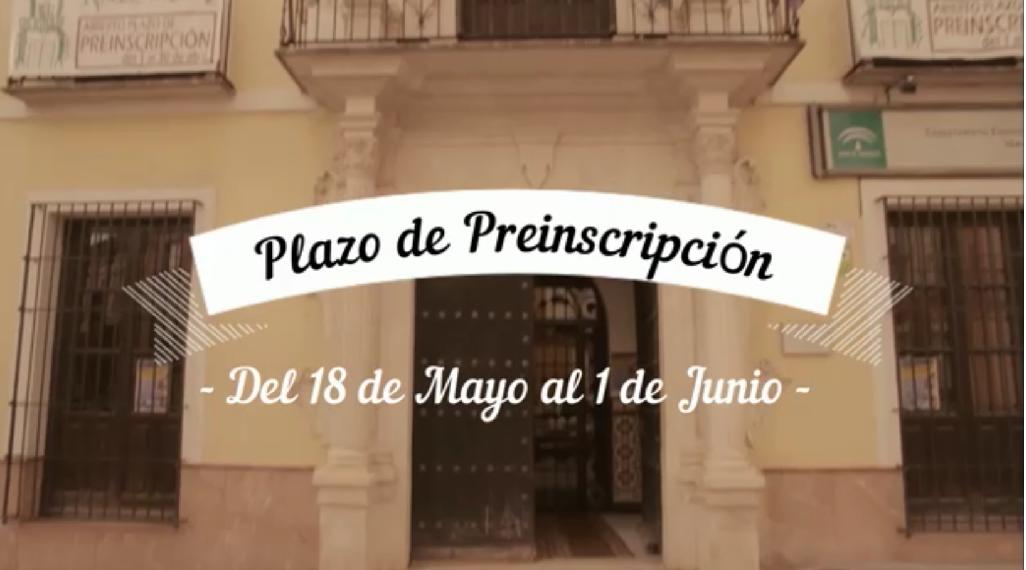 PLAZO DE PREINSCRIPCIÓN CONSERVATORIO ELEMENTAL DE MÚSICA